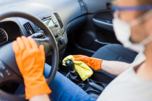 Higienización de los vehículos de LeasePlan